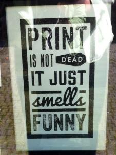 Print is